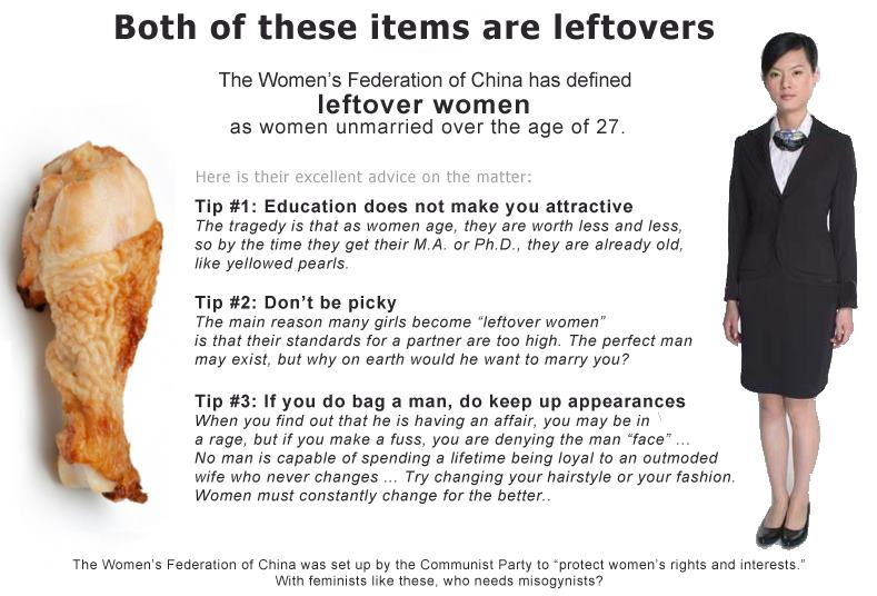 left-over women in china