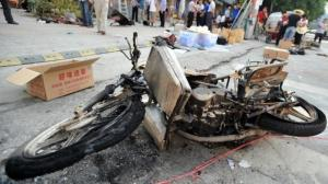 Bomb-on-three-wheeled-cycle-kills-2-injures-44-outside-Chinese-school