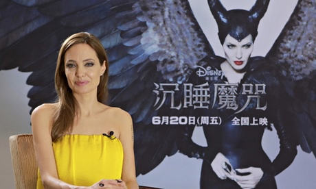 Angelina Jolie Maleficent China