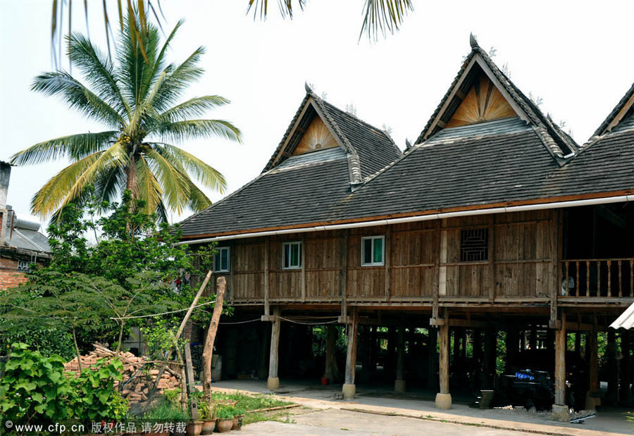 9. The bamboo building
