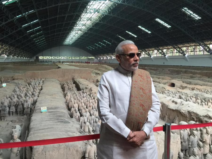 modi-at-terracotta-museum-data